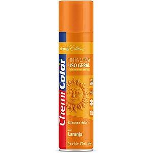 Tinta Spray Chemicolor Uso Geral Laranja 400ml 132