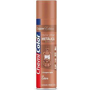 Tinta Spray Chemicolor Metálica Cobre 400ml 106
