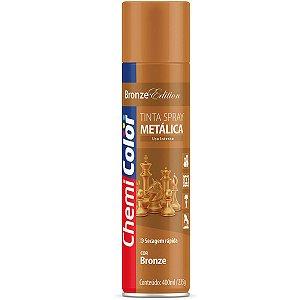 Tinta Spray Chemicolor Metálica Bronze 400ml 186