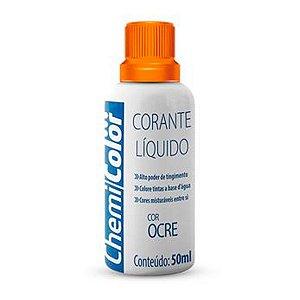 Corante Liquido Chemicolor 50ml Ocre