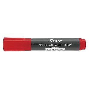 Marcador Permanente Pilot Atômico 1100-P Vermelho Caixa com 12 Unidades