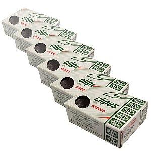 Clipes Niquelados ACC Nº 4/0 10 Caixas com 50 Unidades