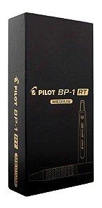 Caneta Pilot BP1 RT 1.0mm Preta Caixa com 12 Unidades