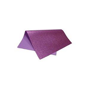 Folha Eva DubFlex Violeta Com Glitter 40x60cm 5 folhas