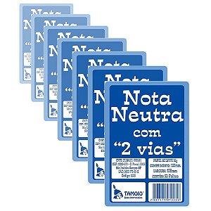 Bloco Nota Neutra Tamoio 1/32 - 1005 25 x 2 - 20 Blocos com 50 Folhas