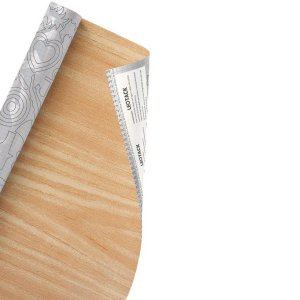 Plástico Adesivo Leoarte Madeira Carvalho 45cm x 10m 80 Micras