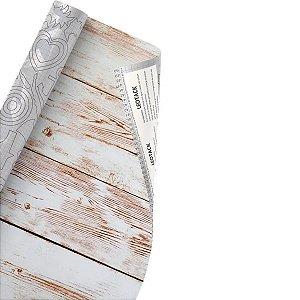 Plástico Adesivo Leoarte Madeira Demolição 45cm x 10m 80 Micras