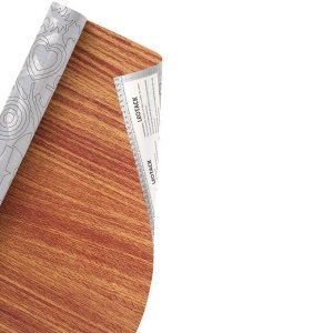 Plástico Adesivo Leoarte Madeira Mogno 45cm x 10m 80 Micras