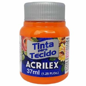 Tinta para Tecido Acrilex 37ml Laranja 517