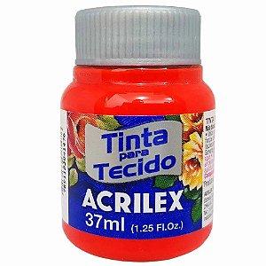 Tinta para Tecido Acrilex 37ml Vermelho Vivo 541