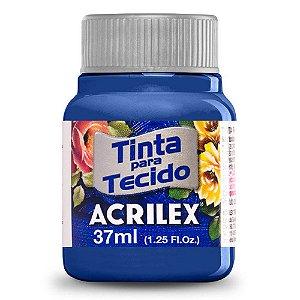 Tinta para Tecido Acrilex 37ml Azul Cobalto 502