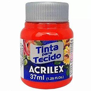 Tinta para Tecido Acrilex 37ml Vermelho Fogo 507