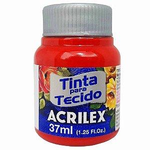 Tinta para Tecido Acrilex 37ml Vermelho Escarlate 508