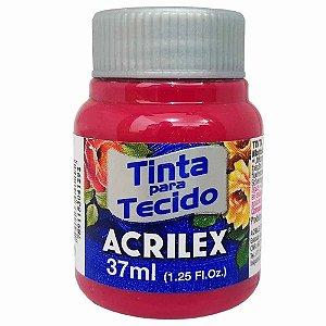 Tinta para Tecido Acrilex 37ml Vermelho Carmim 509