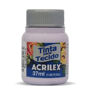 Tinta para Tecido Acrilex 37ml Lilás Bebê 809