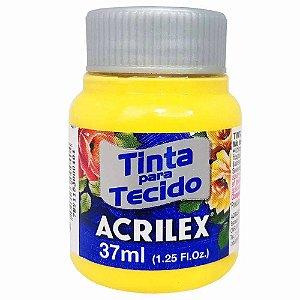 Tinta para Tecido Acrilex 37ml Amarelo Canário 589
