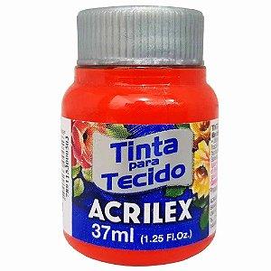Tinta para Tecido Acrilex 37ml Tangerina 801