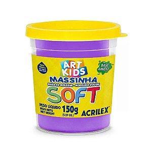 Massa de Modelar Soft Acrilex 150g Violeta 516