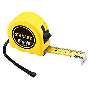 Trena De Aço Stanley 05m x 16mm