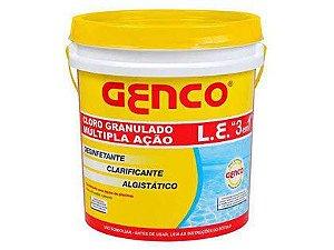 Cloro Genco Multi Ação 3 em 1 L.E Balde 2,5kg
