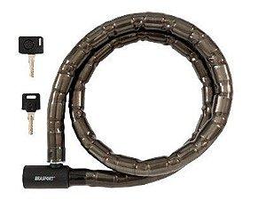 Cadeado Moto e Brasfort com 02 Chaves