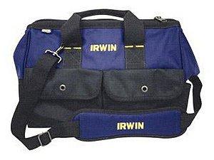 Bolsa Para Ferramentas Irwin Standard 16 Velcro em 2 Bolsos