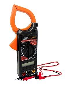 Multímetro Digital Com Alicate Amperímetro Foxlux 1000A