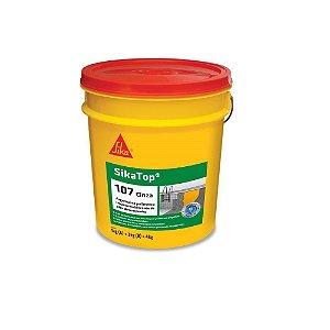 Impermeabilizante Sika Top 107 4kg Cinza Azulado Embalagem com 04 Galões