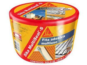 Fita Impermeabilizante Sika Alumínio 15cm Rolo 10 Metros
