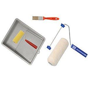 Kit para Pintura  Roma 65505 com 5 Peças Embalagem com 06 Kits