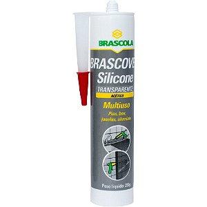 Silicone Brascoved Brascola 280g Incolor