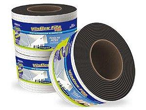 Fita Impermeabilizante Viaflex Alumínio 15cm Rolo 10 Metros
