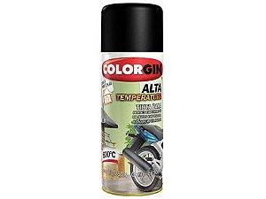 Tinta Spray Colorgin 724 Alta Temperatura Branco