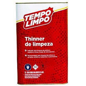 Thinner de Limpeza Tempo Limpo 05 Litros