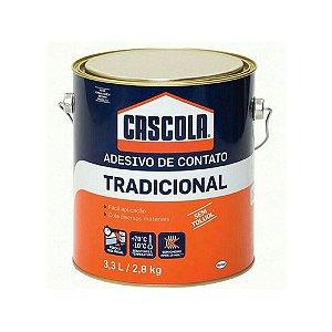 Cola Adesivo de Contato Cascola Henkel 2,8Kg