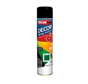 Tinta Spray Colorgin 870 Decor Preto