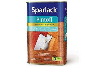 Removedor Pintoff Sparlack Pequeno 01 Litro com 06 Unidades