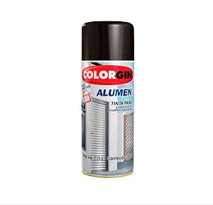 Tinta Spray Colorgin 773 Alumen Preto Fosco