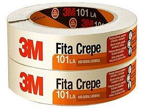 Fita Crepe 3M 48mm x 50m 101LA Pacote com 02 Unidades