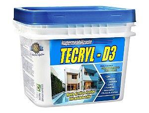 Manta Acrílica Impermeabilizante Tecryl D3 Galão 04Kg Branco