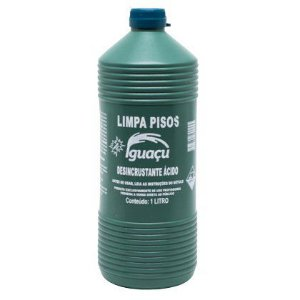 Limpa Piso Iguacu 01 Litro Multiuso Embalagem com 12 Unidades