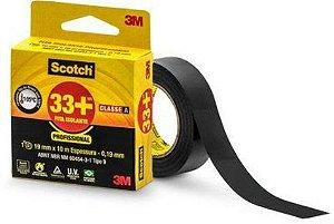Fita Isolante 3m Scotch 33+ 19mm x 10m