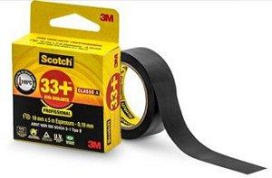 Fita Isolante 3m Scotch 33+ 19mm x 05m