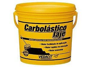 Massa Asfáltica Carbolástico para Impermeabilização Vedacit Galão de 3,9 Kg