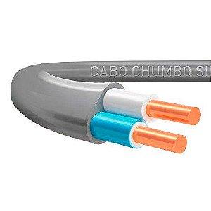 Cabo Plastichumbo Sil 2x2,5mm 100Metros
