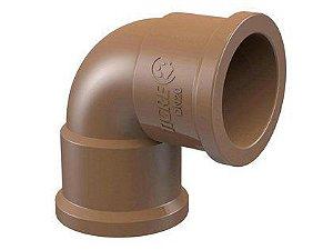 Joelho 90° Tigre PVC para Esgoto 25mm Embalagem com 50 Unidades