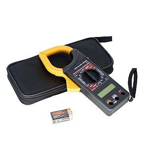 Multímetro Digital Com Alicate Amperímetro Clamp 266  Am-32002