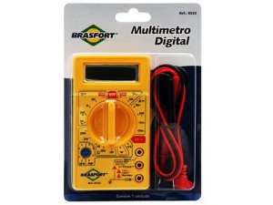 Multímetro Digital Brasfort 8522