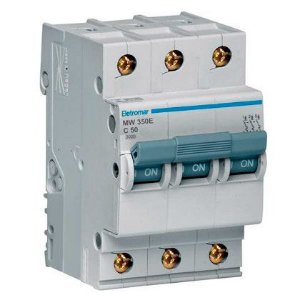 Disjuntor Din Tripolar Eletromar 220-400V 16A