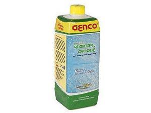 Algicida Clarificante Genco Choque para Água 1L